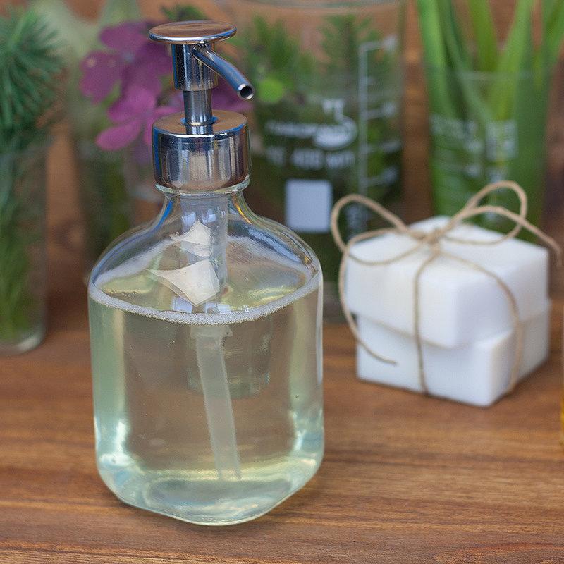 Домашнее жидкое мыло