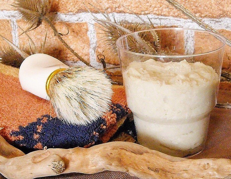 Мыло для бритья: натуральная классика